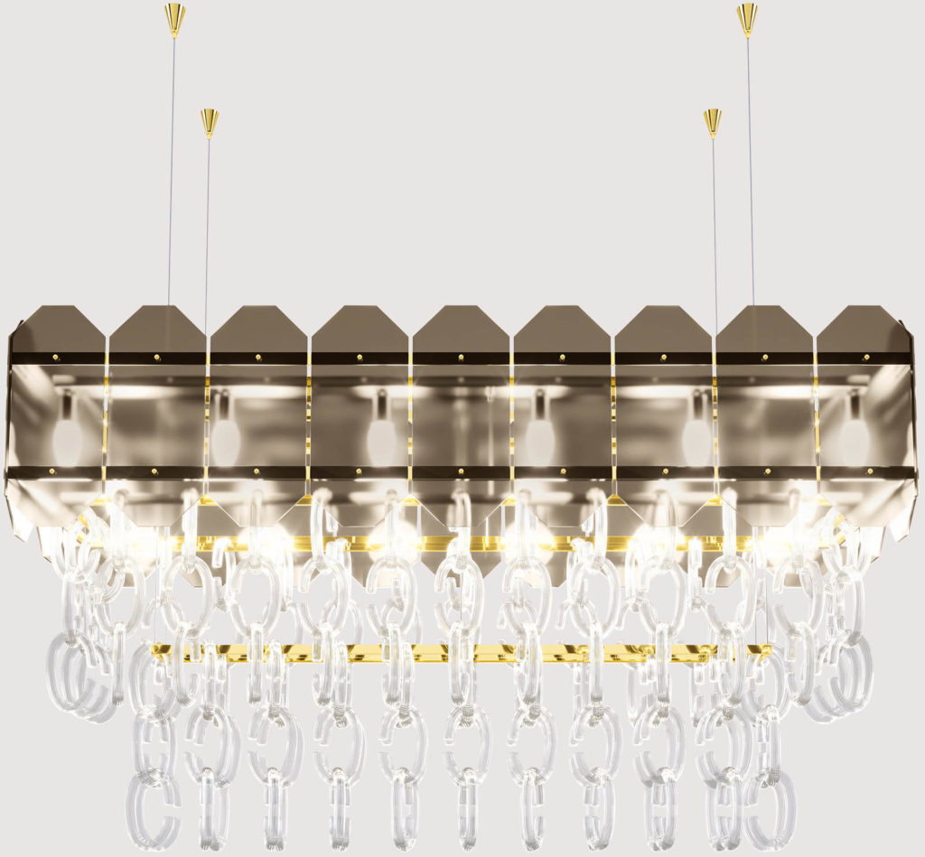 Twin Lampada Rettangolare 00001