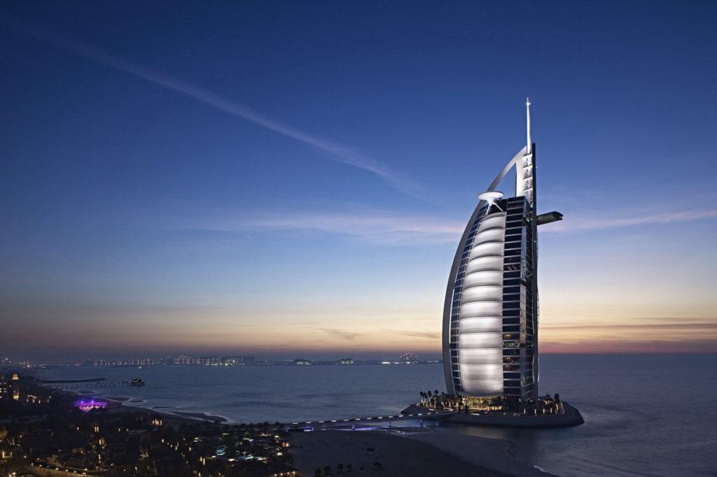 burj al arab hotel dubai uae sky sea